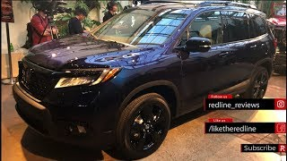2019 Honda Passport – Redline: First Look – 2018 LA Auto Show
