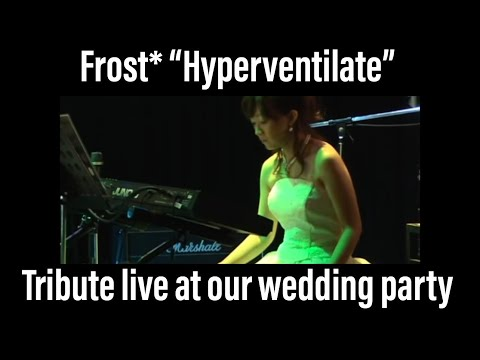 Frost* Hyperventilate cover