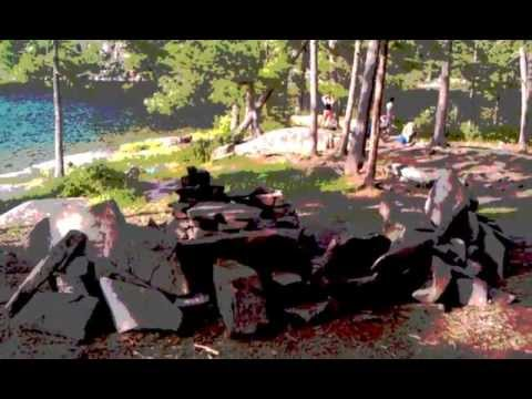 Algonquin Park Opalescent Lake Interior Campsite Youtube