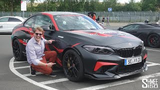 THIS is the FIRST Modified 580hp BMW M2 CS in the World!