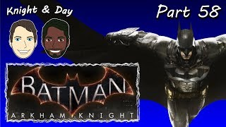 Let's Play Batman Arkham Knight Gameplay Walkthrough Hard Blind Part 58 - Arkham Jedi Knight?