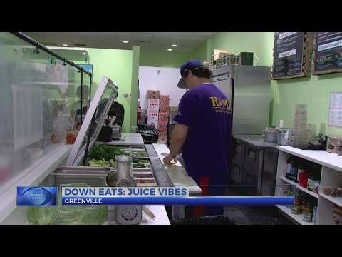 Down Eats: Juice Vibes in Greenville