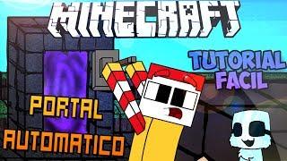 Minecraft | Portal Automático Épico Facil