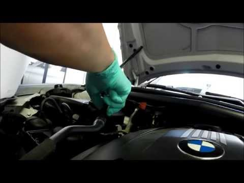 how to put coolant in a bmw 535i