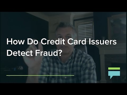 How Do Credit Card Issuers Detect Fraud? - Credit Card Insider