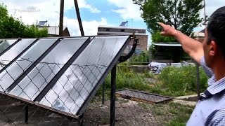 Solar Energy in Basen village in Armenia
