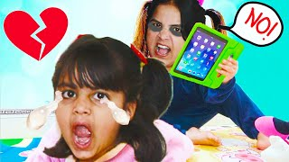 Ashu and Story of Watching Videos - Funny Stories for Kids by Katy Cutie Show