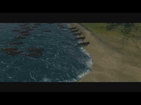 Julius Caesar - First Invasion of Britain (Part 1)