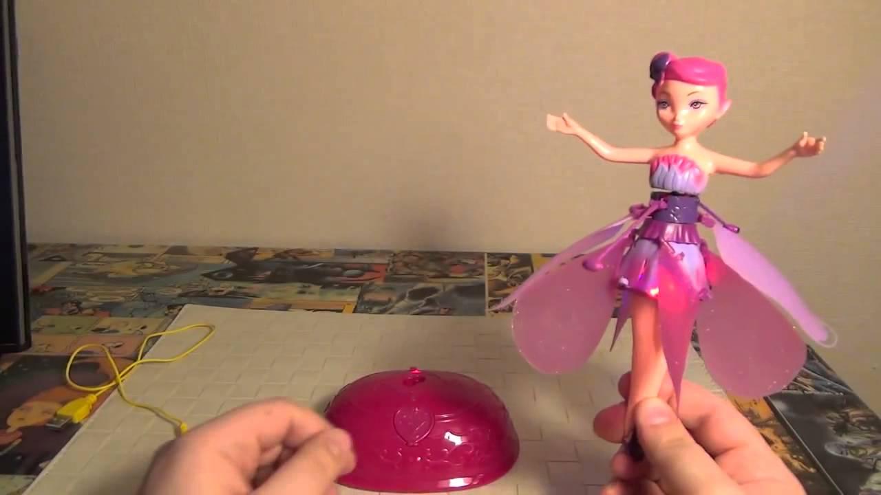 Летающая кукла фея - реклама. Flying Fairy Летающие феи рекламный .