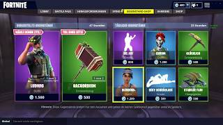 NEW Fortnite /ITEM SHOP 28.09.2018/ Heid, Ludwig Skins, Axcordion / Oktoberfeast Items