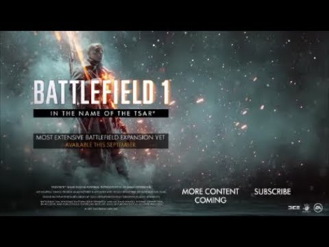 Battlefield 1 In The Name Of The Tsar Trailer Teaser Oficial