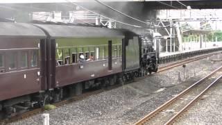 「SLレトロ碓氷」D51 498+旧型客車+DD51 842(2015年5月3日)