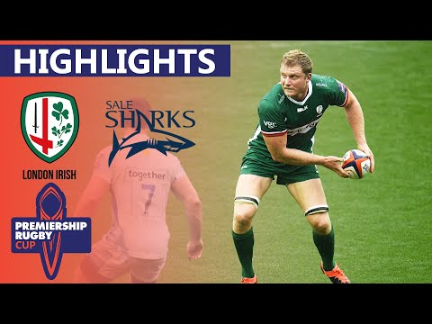 London Irish V Sale - HIGHLIGHTS | Late Try Seals The Win! | Premiership Cup 2019/20