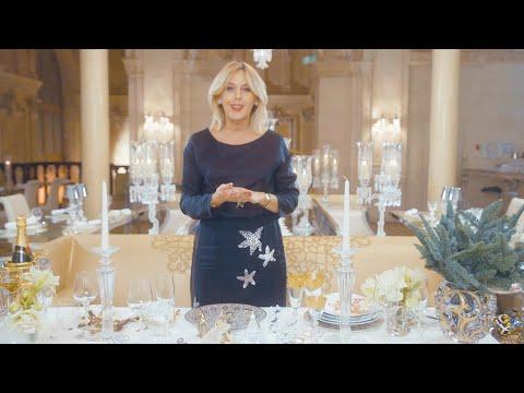 Сервировка новогоднего стола: магия золотого цвета с Татьяной Рогаченко