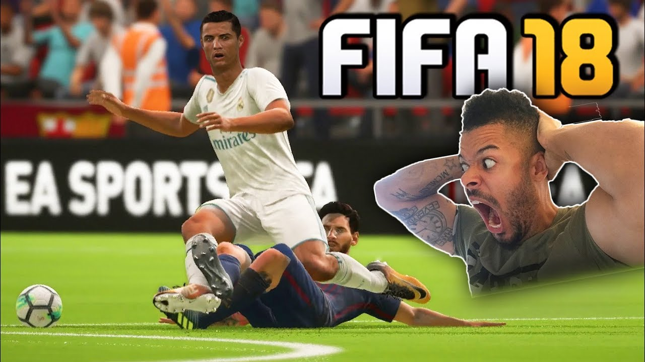 most-savage-fifa-18-match-ever-fouling-football