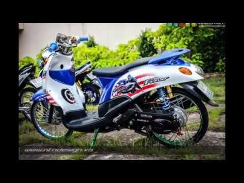 Modifikasi Yamaha FINO Thailook Style   Mothai   Thailand Style