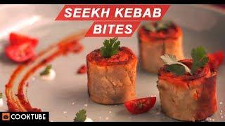 Seekh Kabab Bites 2 Ways | Chicken Seekh Kebab Bites | Best Finger Food