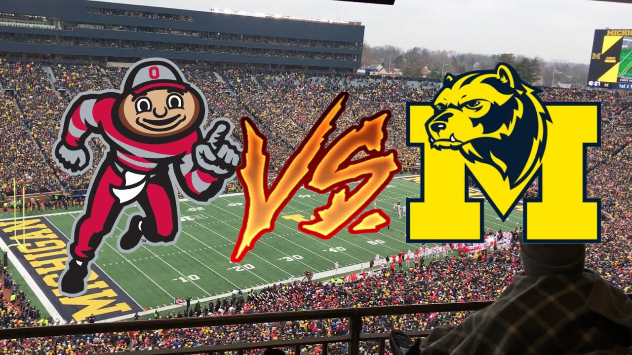 University of Michigan VS Ohio State University 🏈 Vlog 😑☀️ ...