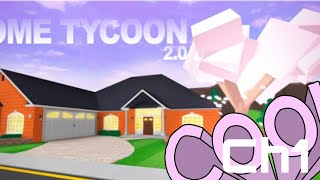 Roblox Home tycoon ch1