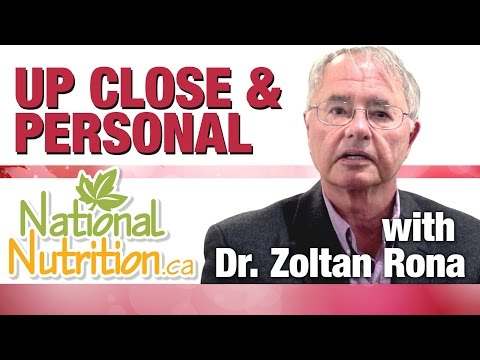 National Nutrition Gets Up Close And Personal With Dr. Zoltan Rona