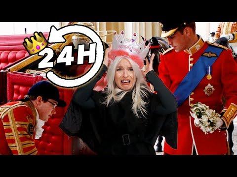 Je vis en suivant les règles royales pendant 24H