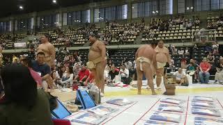 大相撲 渋谷青山学院場所 2017年8月8日.