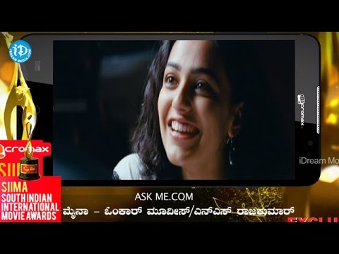 SIIMA 2014 Kannada Best Film Myna | Chetan...