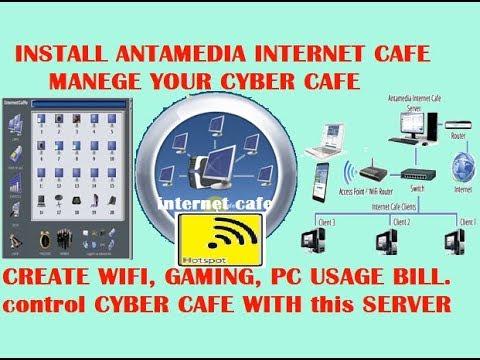 Antamedia internet cafe software | Internet Cafe Software | Cyber Cafe Software | antamedia software