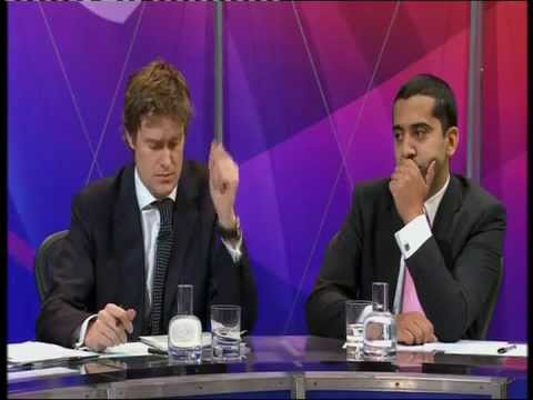Mehdi Hasan on Question Time 08.12.11