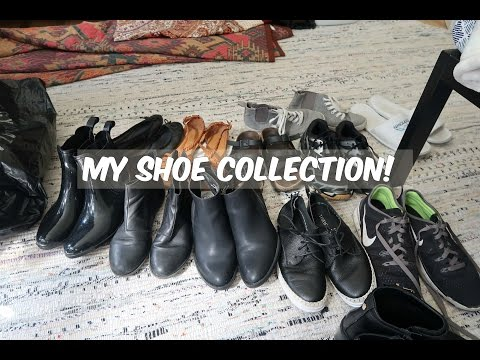 ASMR (British Accent & Whispered): Shoe Collection