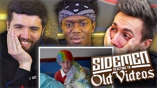 SIDEMEN REACTING TO OLD VIDEOS!