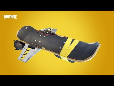 Fortnite NEW Hoverboard Now Available In Save The World Mode