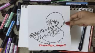 رسم وتحريك الفتى النبيل