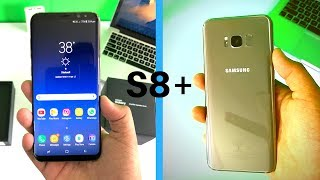 Samsung S8 Plus Maple Gold- Unboxing (indian unit)!!!
