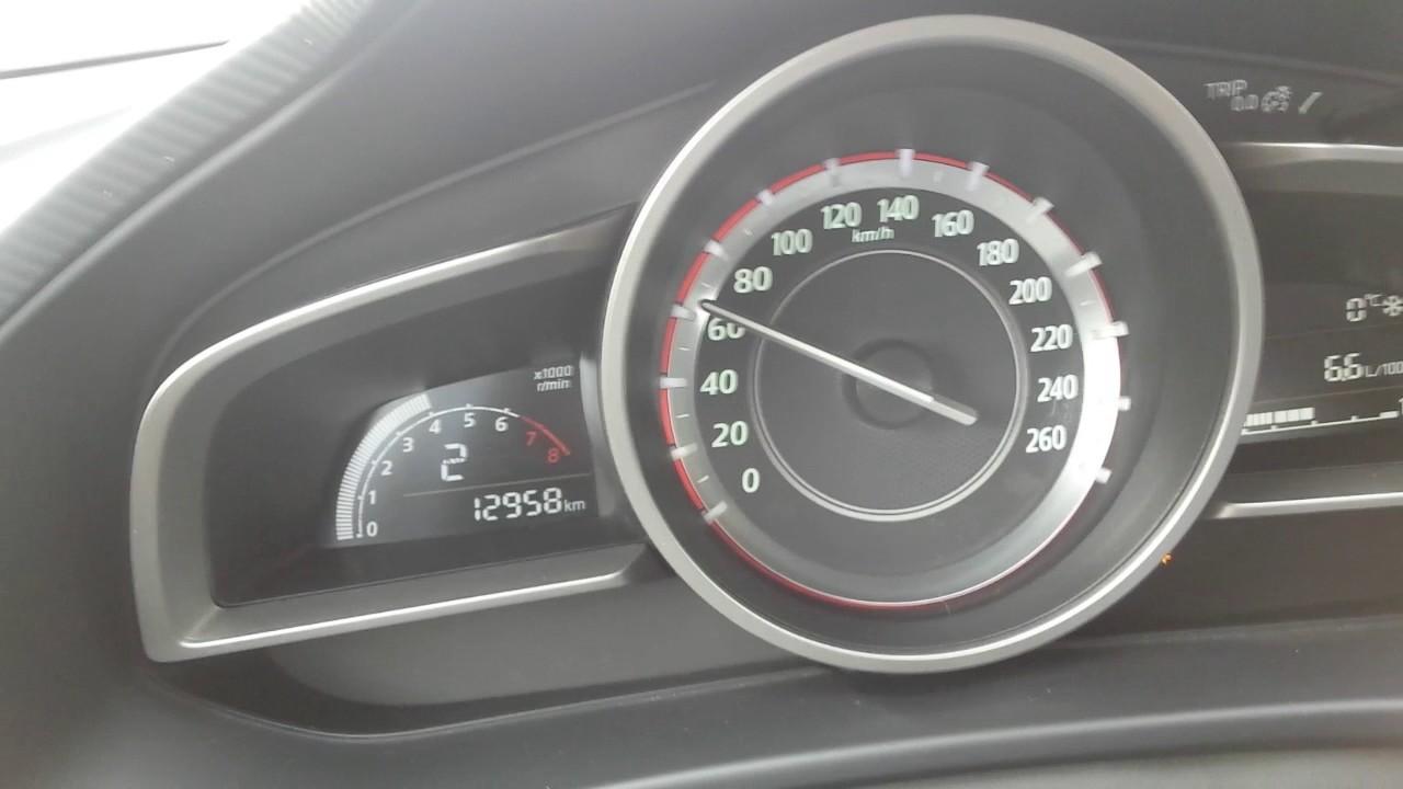 Mazda 3 acceleration 0-100