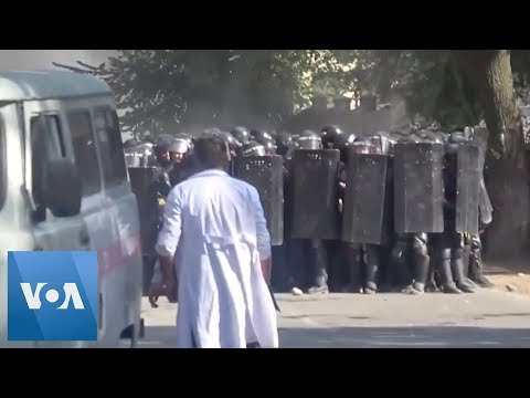Police Detain Former Kyrgyz President, Prompting Protests