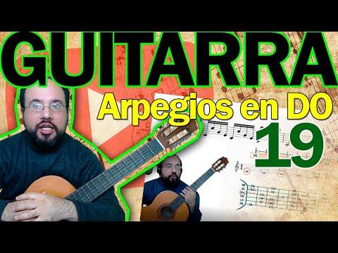curso-de-guitarra-lección-19-–-práctica-en-el-pentagrama-y-ejecución-con-arpegios-en-do.