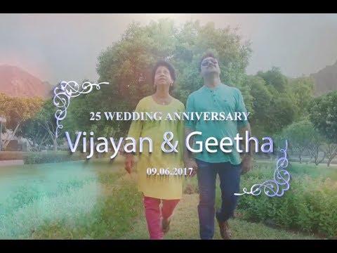Vijayan & Geetha's 25th Wedding Anniversary Celebration Organized by Muscat Malayalees Team - Teaser