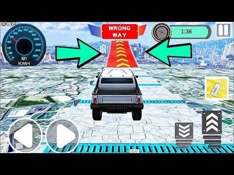 Super Speed Sports Car Racing Challenge - Stunts Jeep Car Games - Android Gameplay Video