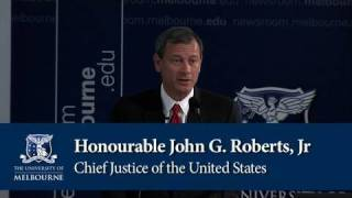International Public Lecture - Chief Justice of the United States, John G. Roberts, Jr.