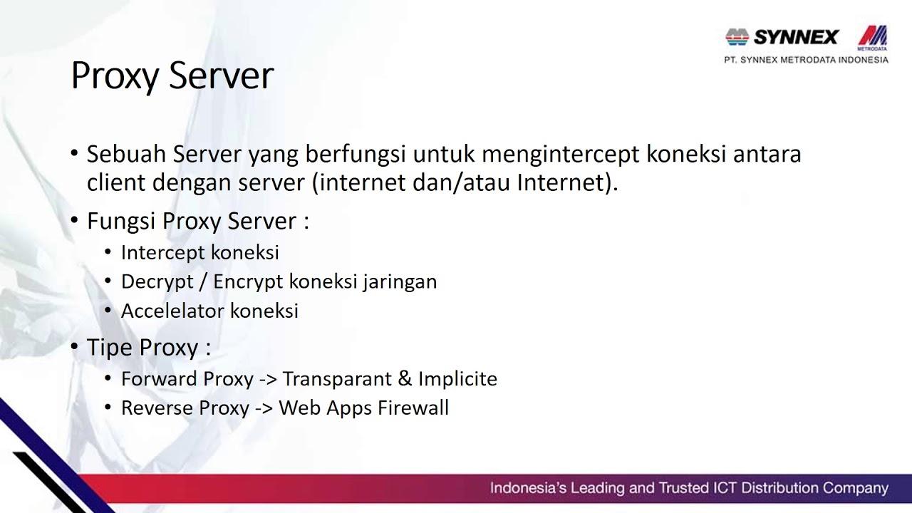 Apa itu Proxy Server - YouTube