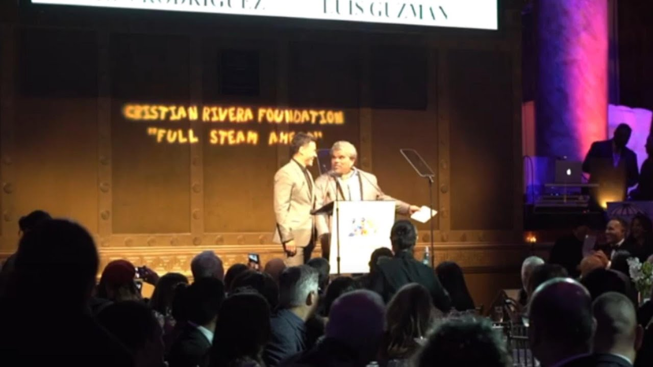 Video Highlights of The 11th Annual Cristian Rivera Foundation Celebrity Gala