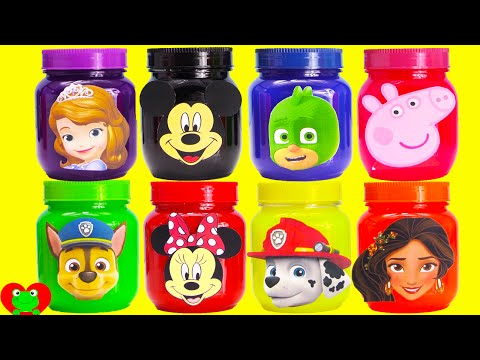 Mickey Mouse, Paw Patrol, PJ Masks, and Peppa Slime Surprises
