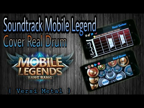 Soundtrack Mobile Legend - Cover Drum ( Metal Version )