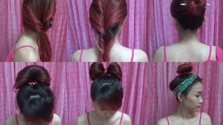 Hairstyles - Cách Làm 6 Kiểu Tóc Siêu Đẹp -Siêu Nhanh - Siêu Dễ | Yêu Làm Đẹp