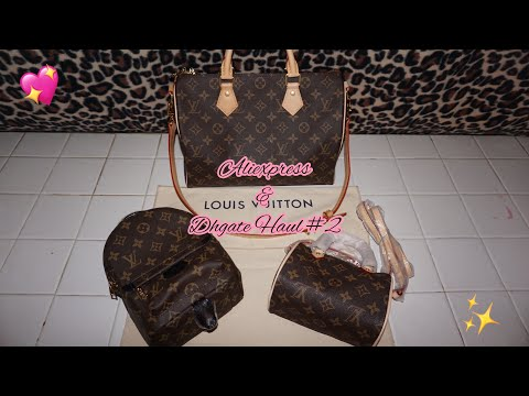 Aliexpress & Dhgate Haul #2 / Louis Vuitton Handbags✨💕