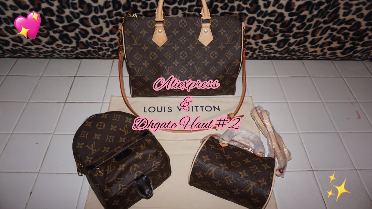 00cbafdb5c49 Aliexpress   Dhgate Haul  2   Louis Vuitton Handbags✨💕 - YouTube