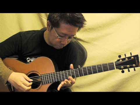 Here Comes the Sun acoustic guitar solo