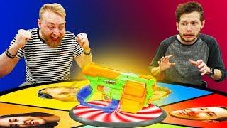 NERF Spin the Blaster Challenge