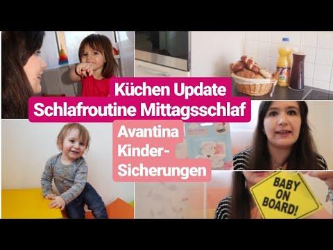 Mama Alltags Vlog| Mittagsschlaf Routine| Küchen & Spielzimmer Update| Avantina Kindersicherungen